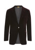 Merlot Stretch Velvet Dinner Jacket