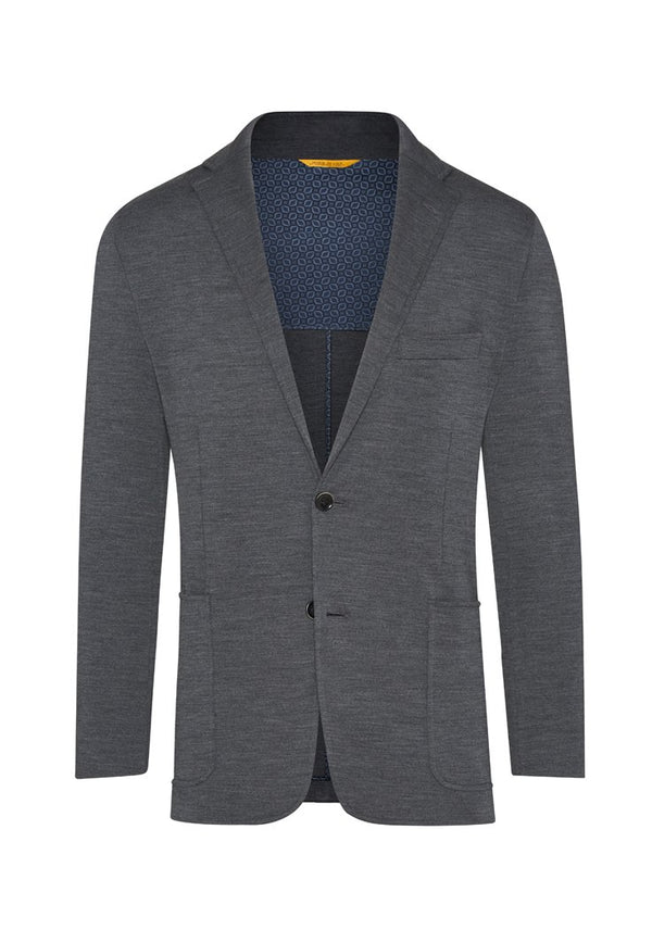 Charcoal Knit Jacket