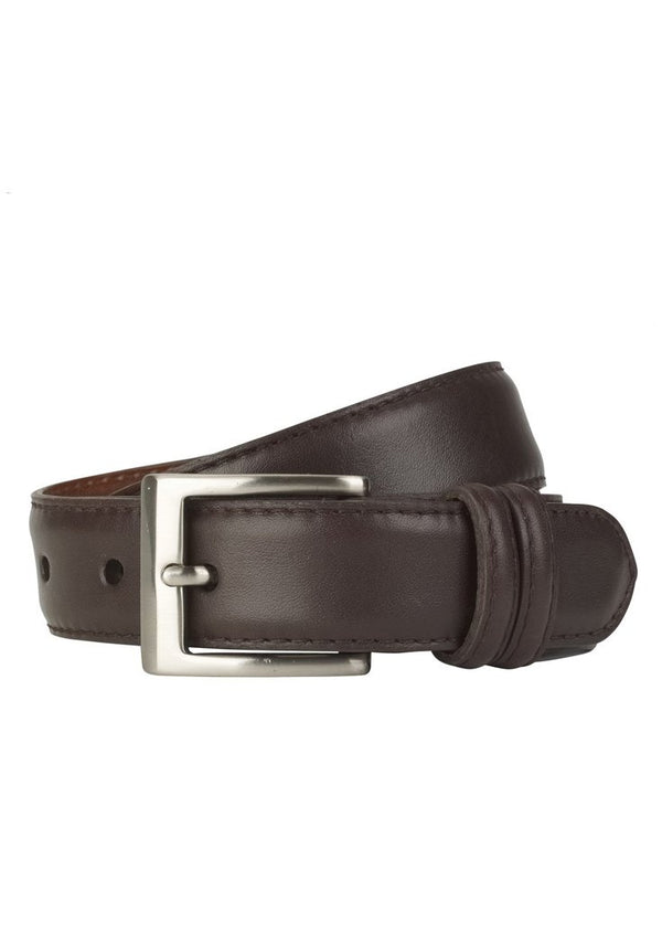 Chocolate Glazed Napa Calf Belt