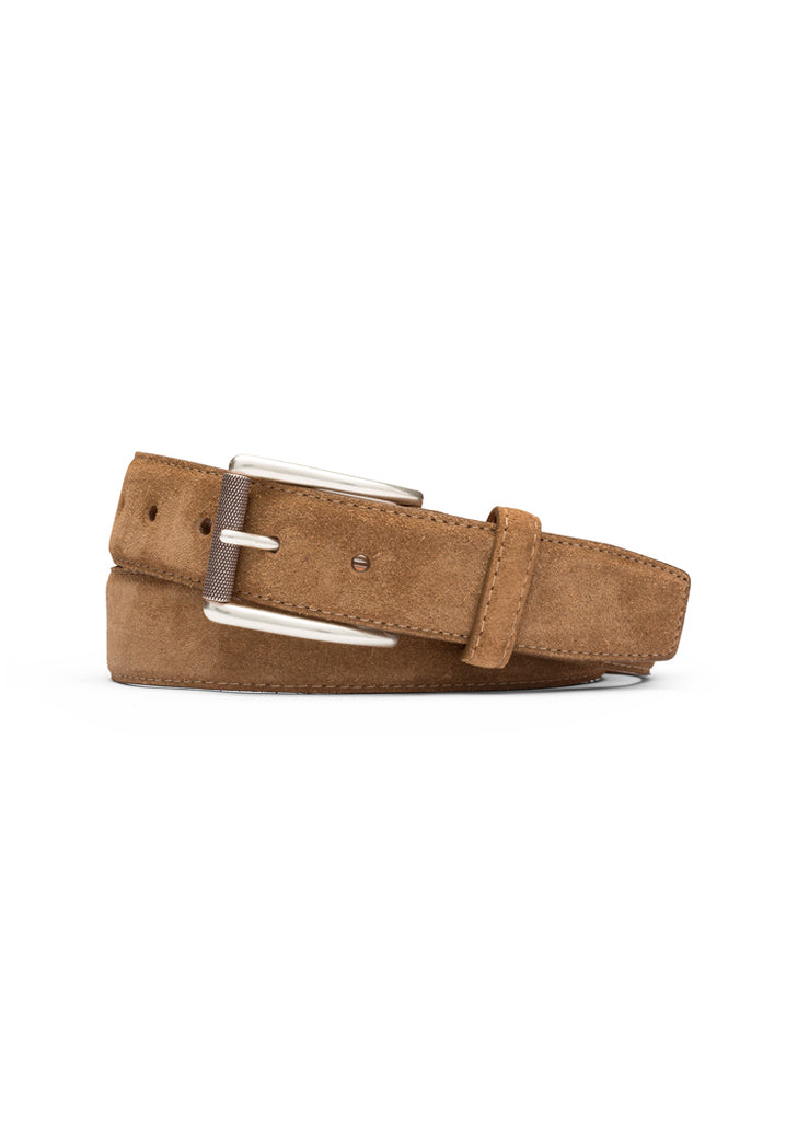 Whiskey Suede Calf Belt