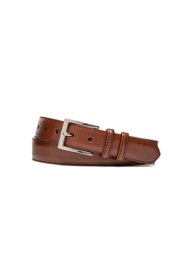 Papaya 1 1/4 Glazed Calf Belt