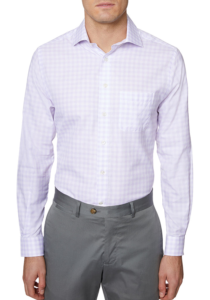 Lavender Italian Cotton Sport Shirt