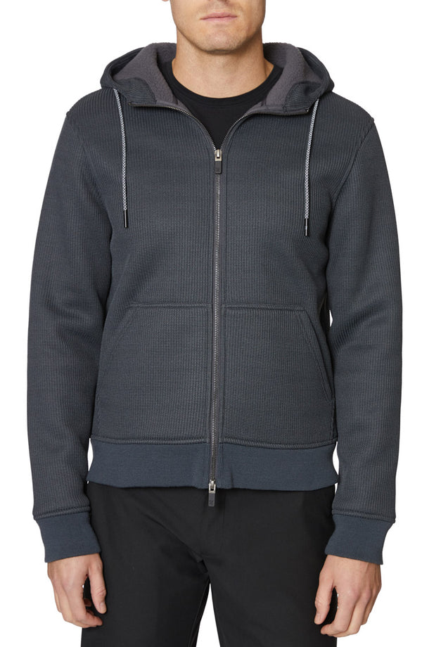 Charcoal Tech Fleece Hoodie