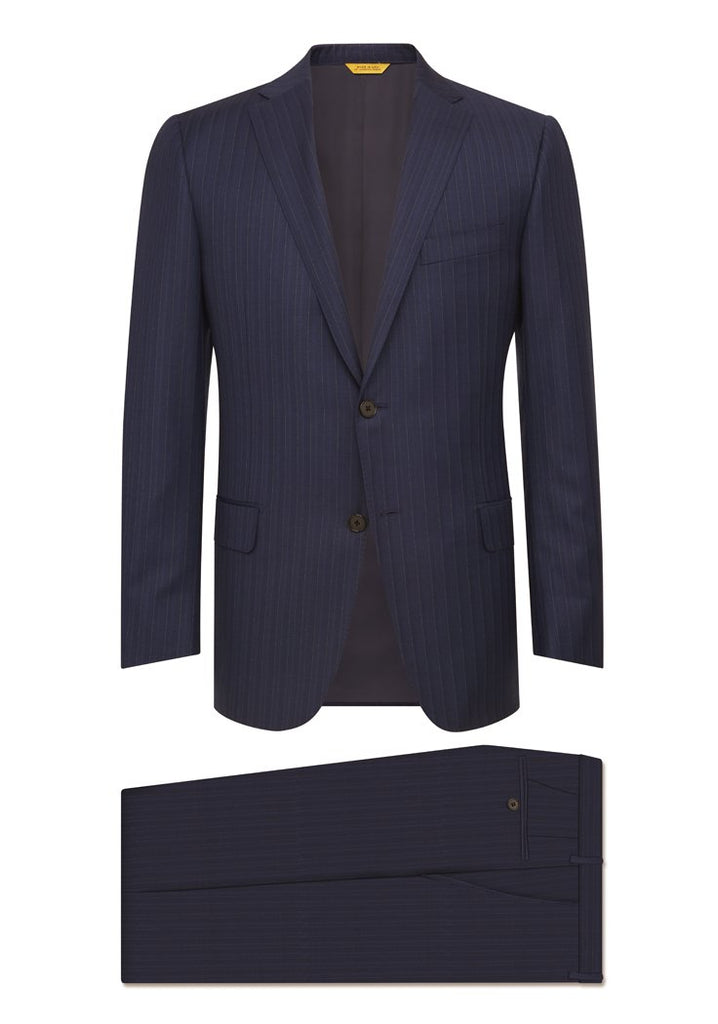 Navy Stripe Tasmanian Suit
