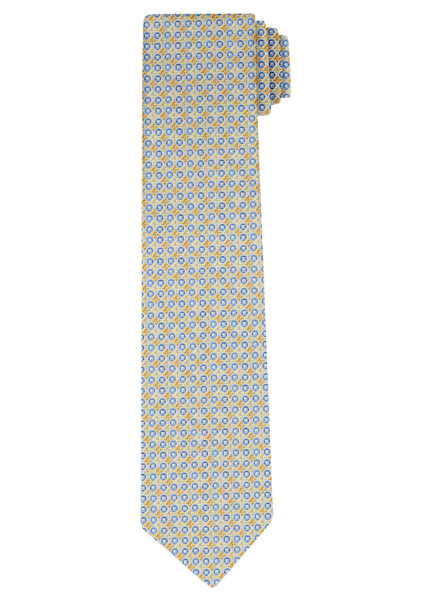 Yellow Circle Tie