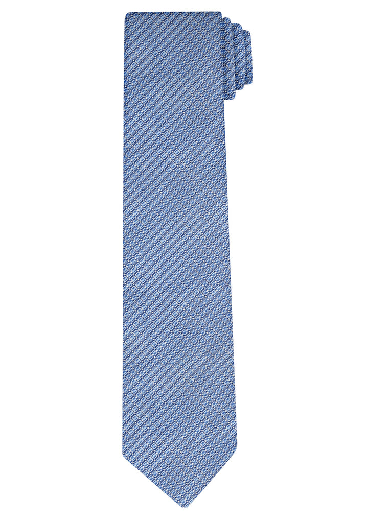 Blue Allover Tie