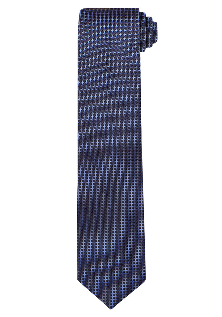 Blue Jacquard Micro Lattice Tie