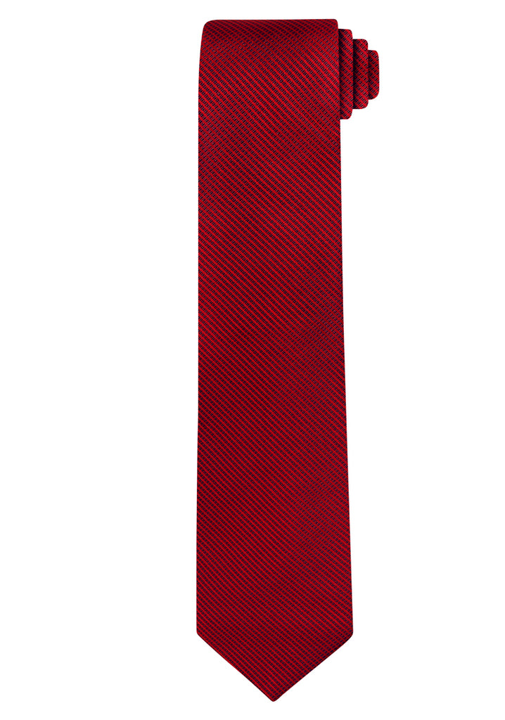 Red Jacquard Micro Lattice Tie