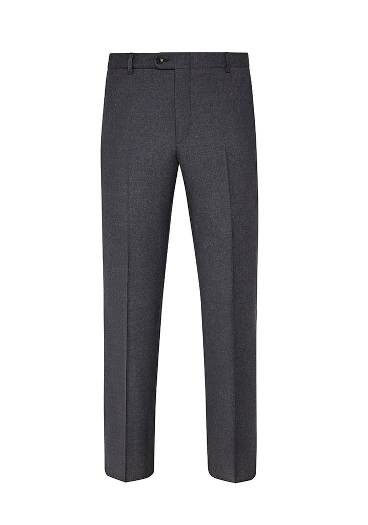 Mélange Grey Mouliné Light Trousers
