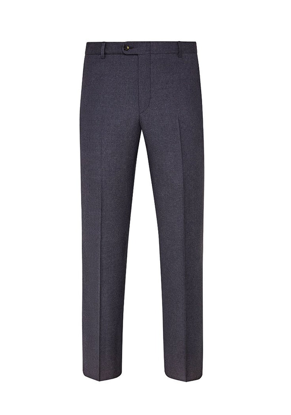 Chambray Blue Mouliné Light Trousers