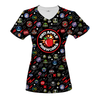 Red Apple Fireworks Women's V-Neck T-Shirt