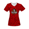 Calavera Women's V-Neck T-Shirt