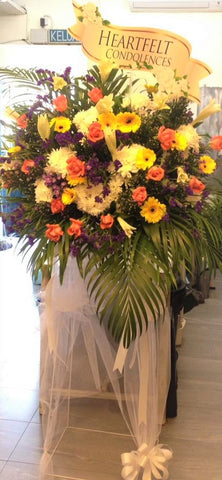 Condolences Flower Stand -3