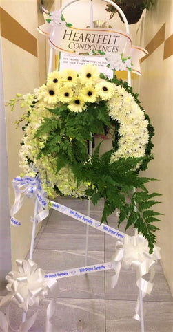 Condolences Flower Stand -4