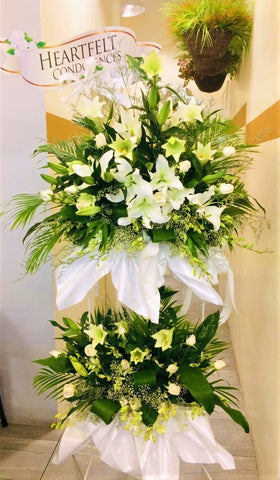 Condolences Flower Stand -5