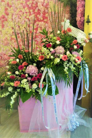 Condolences Flower Stand -6