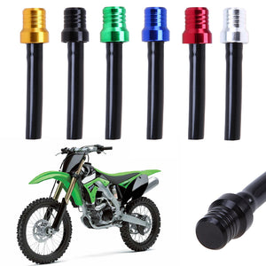 New Aluminum Alloy Motorcycle Gas Pit ATV PIT Dirt Bike Fuel Petrol Tank Cap Breather Pipe Hose Valve Vent Breather Tube Pipe