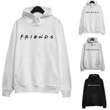 Load image into Gallery viewer, Adult Unisex Women Letter FRIENDS Printing Hoodie Jumper Hooded Jacket Sweatershirt Tracksuit Pullover