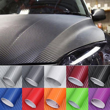 Load image into Gallery viewer, 127cm*10cm Waterproof Car Styling Wrap Carbon Fiber Vinyl Film Car Stickers for Auto Vehicle Detailing Accessories Car Sticker