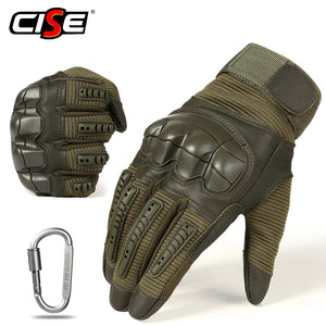 Touch Screen PU Leather Motorcycle Gloves Motocross Protective Gear Motorbike Racing Hard Knuckle Full Finger Glove Men Women