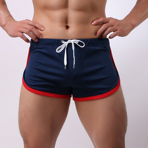 Men's Shorts New short masculino Summer Sports Shorts Fast-Drying Casual Flatpants Lace Shorts pantalones cortos hombre