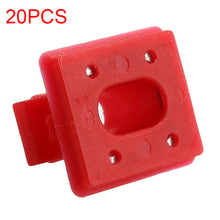 Load image into Gallery viewer, 20pcs Interior Panel Fixing Buckle for BMW E46 / E65 / E66 / E83N Dashboard Dash Trim Strip Clips Red Insert Grommets
