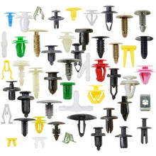 Load image into Gallery viewer, 100Pcs Random Mixing Universal Plastic Car Clips Bumper Interior Decoration Auto Plastic Fastener