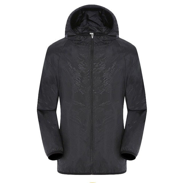 Men's Women Casual Jackets Windproof Ultra-Light Rainproof Windbreaker Top men Winter Pockets Solid patchwork casual