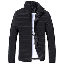 Load image into Gallery viewer, Man's Jackets And Coats Winter Brand Men Cotton Stand Zipper Warm Winter Thick Coat Jacket Men's Windbreaker Jackets