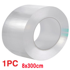 3Pcs Transparent Acrylic Waterproof Mildew-proof Self-adhesive Tape Kitchen Sink Corner Line Stick Strip