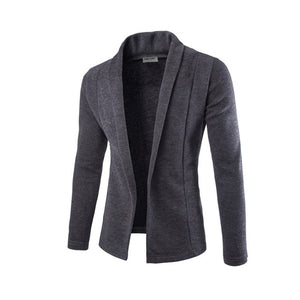 Sweater Men Concise V-Neck Sweater Coat Cardigan Male Solid Color Slim Mens Cardigan Sweater Coat Man Cardigan Men