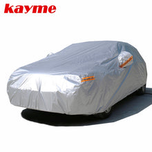Load image into Gallery viewer, Kayme 210T Waterproof Full Car Covers Outdoor sun uv protection, dust rain snow protective, Universal Fit suv sedan hatchback