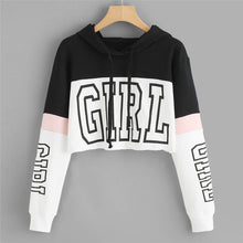 Load image into Gallery viewer, Hoodies Women Sweatshirts 2019 Casual Print Hoody Shirt Long Sleeve  Jumper Hooded Pullover Tops For Female  0912