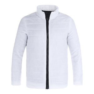 Autumn Winter New Jacket Fashion Trend Casual Thickened Warm Cotton-padded Clothes Slim Baseball Coats Size Cotton Warm Jacket