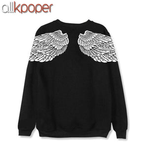 ALLKPOPER KPOP V Hoodie Bangtan Boys Hoodies Sweatershirt Gift (V Stud Earrings(1pcs)) K-POP sudadera mujer