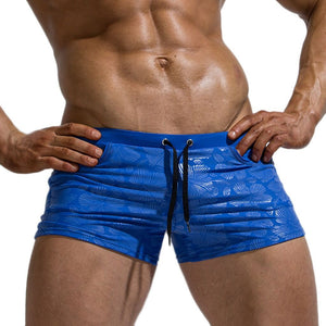 Men Sexy Nylon Breathable Bulge Briefs Swimming Trunks Casual Board Shorts Mens Surf Shorts Beach Swimming Short