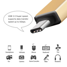 Load image into Gallery viewer, Mini Micro USB-C Type C Male toUSB 3.0 Female OTG Adapter Charger Connector Converter for Huawei Xiaomi Smartphone Tablet