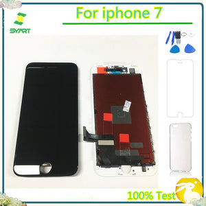 100% Tested No Dead Pixel 4.7 inch IP7 LCD Display Touch Screen Digitizer Assembly Replacement Accessories For iphone 7 7G LCDs