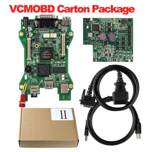 For VCMOBD ii V101 Car Diagnostic Tool supports the car before 2016 VCMOBD 2 OBD2 code reader Scanner