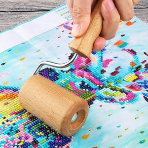 5D Diamond Painting Tool Set Wood Roller DIY Diamond Painting Accessories for Diamond Painting Wood Roller