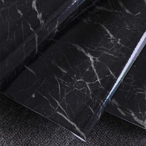 60X50cm Wall Decoration Sticker Granite Marble Wall Sticker Effect Contact Wallpaper Self Adhesive Peel Stick Rolling Paper