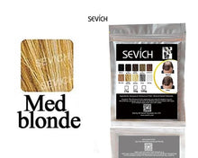 Load image into Gallery viewer, SEVICH Human Hair Powder Keratin Hair Fiber Building Thicker Hair Loss Concealer Hair Care Color Styling Dye Refill Bag 100g