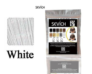 SEVICH Human Hair Powder Keratin Hair Fiber Building Thicker Hair Loss Concealer Hair Care Color Styling Dye Refill Bag 100g