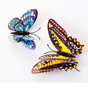 12pcs 3D Butterfly Design Decal Art Wall Stickers Room Magnetic Home Decor 23%