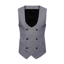 Load image into Gallery viewer, Free Shipping M-4XL Mens Formal Suit British Gentleman Style Blazers Vest Slim Fit Jacket Coat 80808