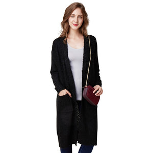 2018 Autumn Winter Women Cardigan Sweater Fashion Female Loose Thin Wool Knitted Oversized Long Sleeve Knitwear For Girls Slim