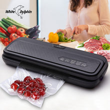 Load image into Gallery viewer, White Dolphin Food Vacuum Sealer Machine 220V 110V For Food Saver With 10PCS Bags Home Electric Vacuum Sealer Packaging Machine