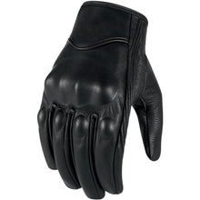 Load image into Gallery viewer, Motorcycle Gloves Leather Touch Screen Men Genuine Goatskin Cycling Glove Motorbike Racing Guantes De Moto Luvas De Motocicleta