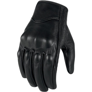 Motorcycle Gloves Leather Touch Screen Men Genuine Goatskin Cycling Glove Motorbike Racing Guantes De Moto Luvas De Motocicleta