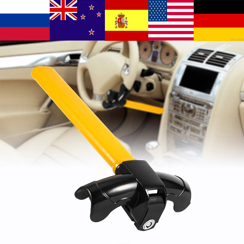 Universal Auto Car Anti-Theft Security Rotary Steering Wheel Lock Top Mount  for SUV Truck Anti Theft Devices Vehicle Wheel Lock
